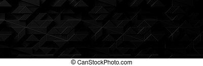 Extra Dark Wide Futuristic Background (Site head)