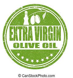 Extra Virgin Olive Oil stamp