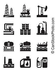 extracción, procesamiento, aceite