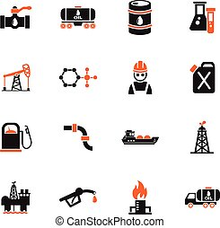 extraction of oil icon set web icons for user interface...