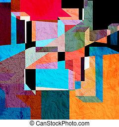 Extracto, colorido, Plano de fondo