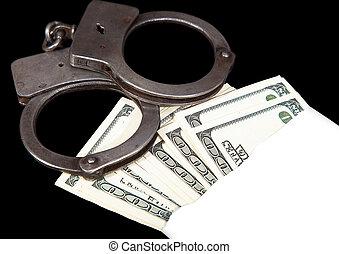 Extracto, crimen, dinero, soborno
