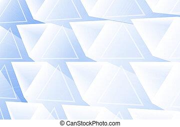 Extracto, encendido, triángulos