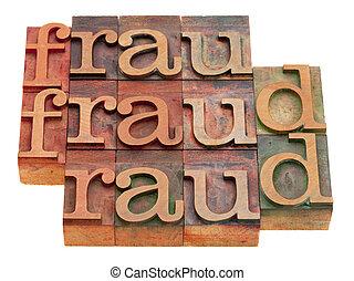 Extracto, fraude, palabra