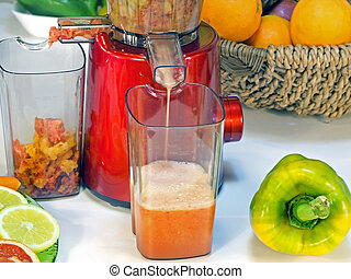 extractor juice low rpm in working produces fresh juice ...