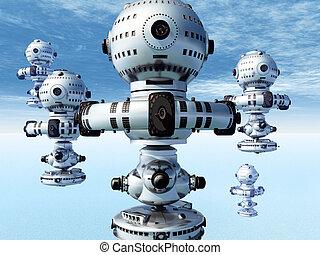 extranjero, spacecrafts