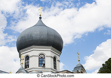 Extras of the Orthodox Church beautiful view