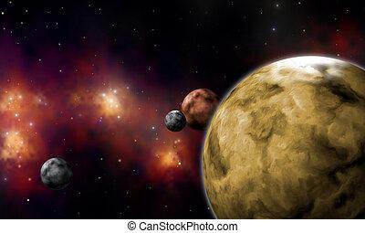 extrasolar planets system