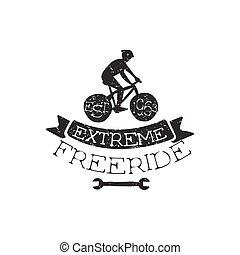 Extreme Freeride Vintage Label