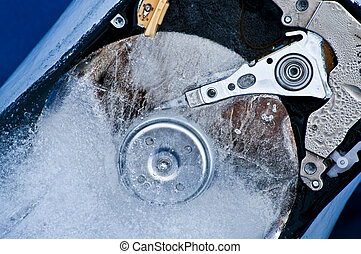Extreme hard drive cooling