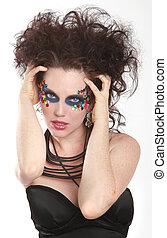 Extreme High Fashion Conceptual Beauty Image