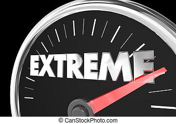 Extreme Highest Maximum Top Score Speedometer 3d...