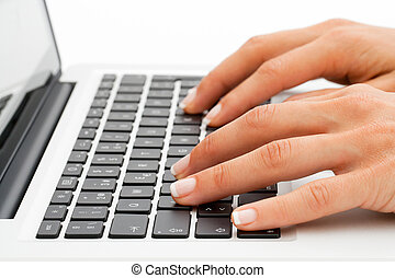 extreme sűrű, közül, kezezés on, keyboard.