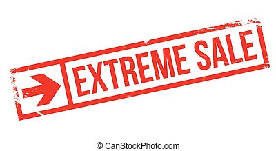 Extreme Sale rubber stamp