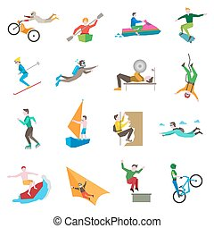 Extreme Sports Icons