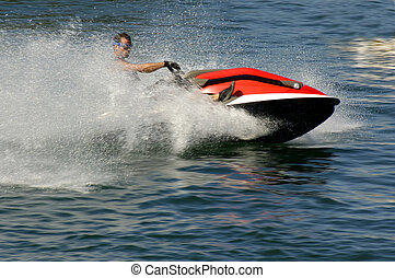 Jet Ski - Extreme Sports Jet Ski Demo