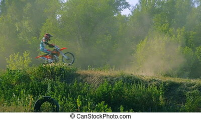 extreme sports motocross motorcycle jumping
