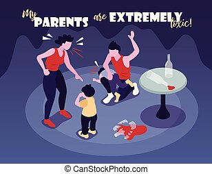 Extremely Toxic Parents Background