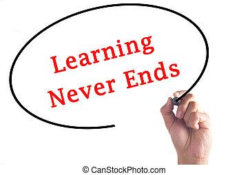 extremidades, nunca, mão, tábua, aprendizagem, escrita, transparente