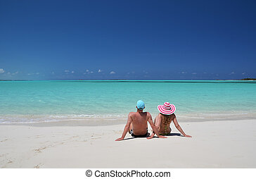 exuma, bahamas, par, praia