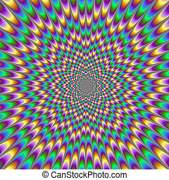 Eye Bender - Digital abstract image with a psychedelic ...