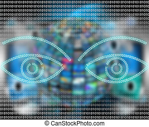 Eye binary code