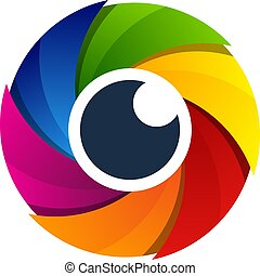 Eye Camera Logo Icon Design