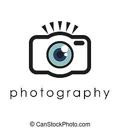 Eye Camera Simple Photography Symbol