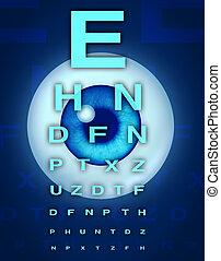 Eye Chart and Vision - Eye chart and vision medical...
