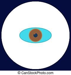 eye computer symbol