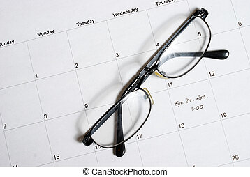 Eye Dr Appointment - A routine eye appointment is scheduled...