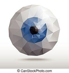 eye from polygons