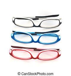 eye glasses - Eye glasses isolated on white background.
