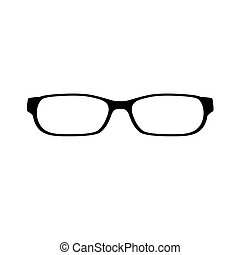 eye glasses icon- vector illustration