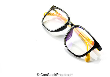 Eye Glasses Isolated on White