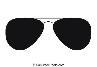 eye glasses silhouette