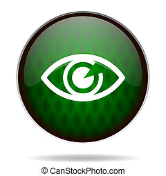 eye green internet icon