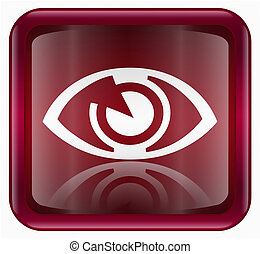 eye icon red