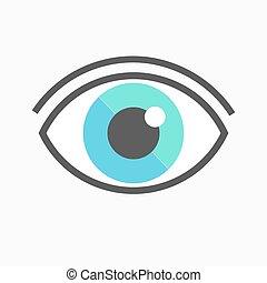 Eye icon symbol