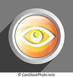 Eye icon symbol design
