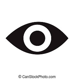 eye icon Vector Illustration