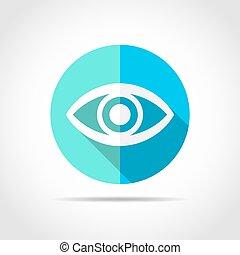 Eye icon. Vector illustration.