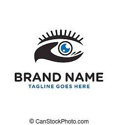 eye logo design your brand