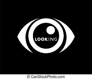 eye looking icon