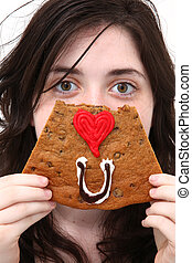 Eye Love You Cookie