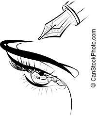 eye - occhio disegno