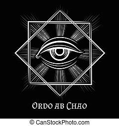 Eye of Providence masonic symbol