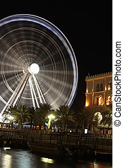 Eye of the Emirates - ferris wheel in Al Qasba in Shajah, UAE