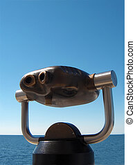 binocular horizon, sea