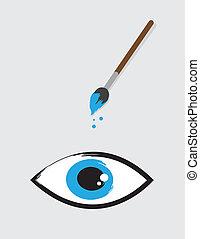 Eye Paintbrush